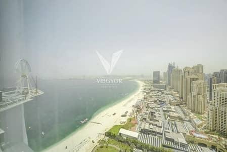 3 Bedroom Apartment for Rent in Jumeirah Beach Residence (JBR), Dubai - Al Bateen | Sea View | Vacant in 2 Weeks