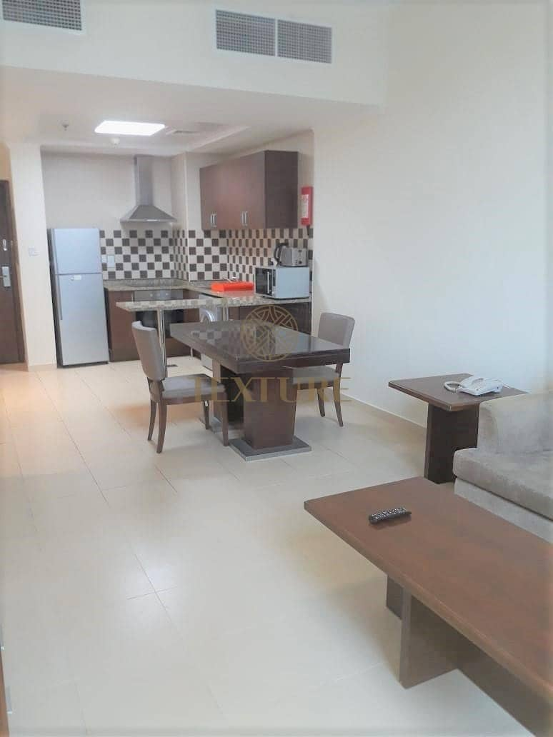 2 Fully Furnished 1 BR | 1 Minute walk to Metro
