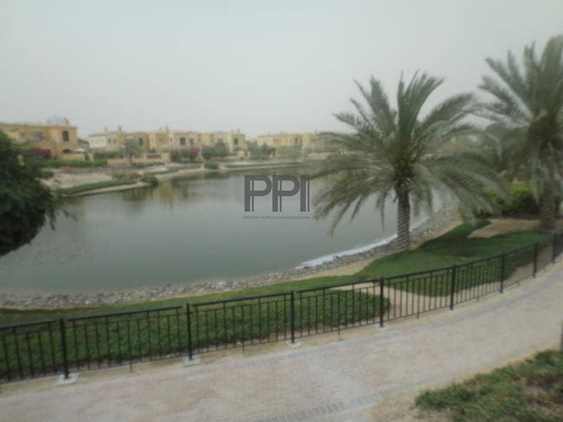 22 Beautiful  Lake view 2 BR Villa in Arabian ranches