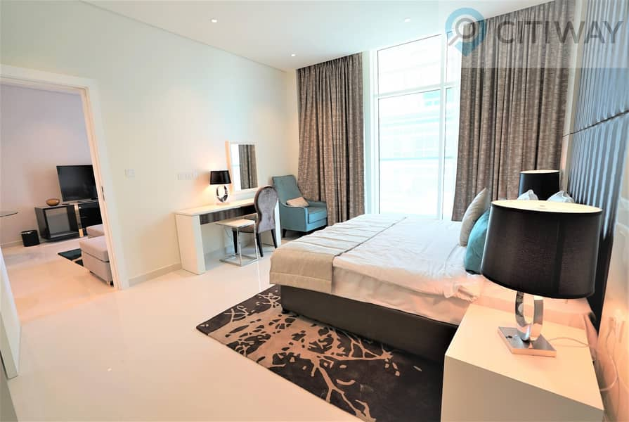 1 BR | Partial Canal View | Fully Furnished