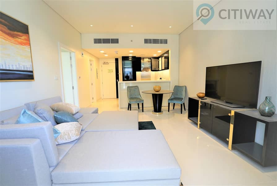 2 1 BR | Partial Canal View | Fully Furnished