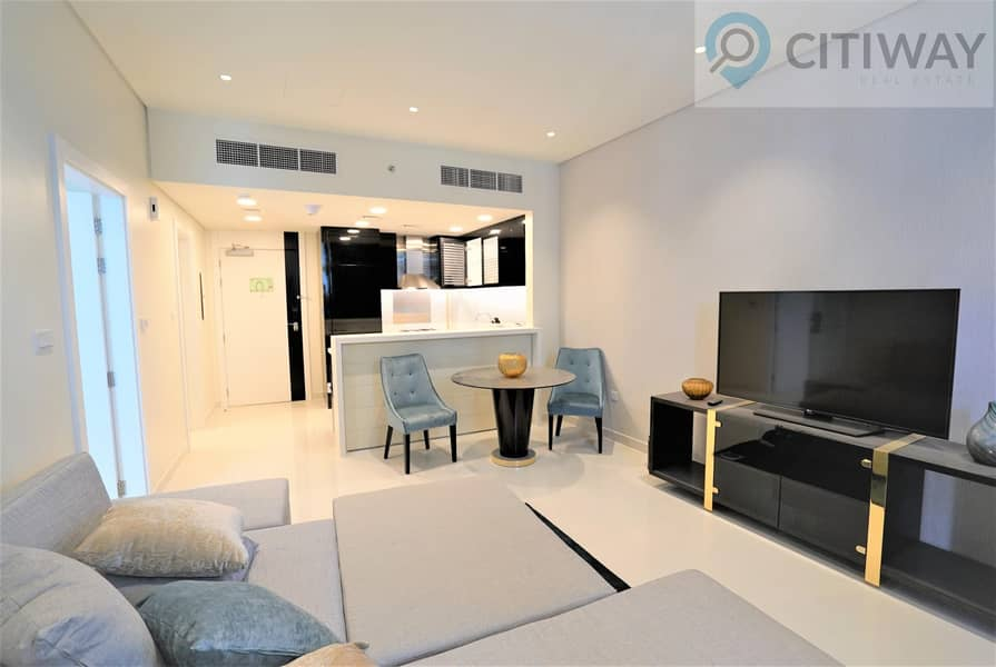 10 1 BR | Partial Canal View | Fully Furnished