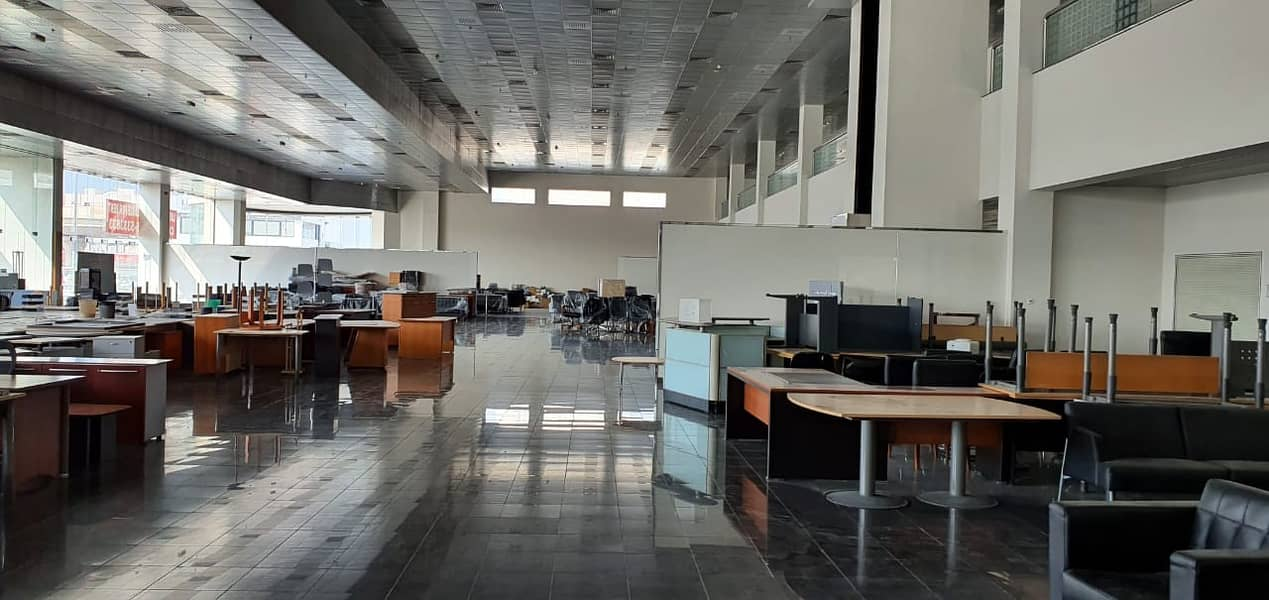5100 square feet Showroom with builtin Office available in Al Wahda, Sharjah