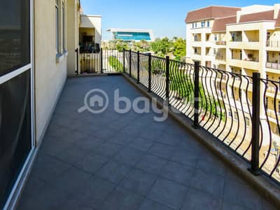1 Bedroom Flat for Rent in Motor City, Dubai - Spacious 1 Bedroom Apartment with Community View