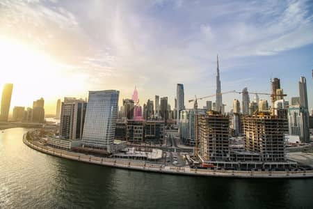 1 Bedroom Flat for Sale in Business Bay, Dubai - 1 BR with full canal & burj khalifa view
