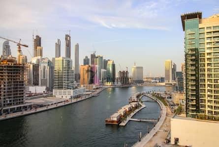 Studio for Sale in Business Bay, Dubai - Lake view high floor Studio for sale
