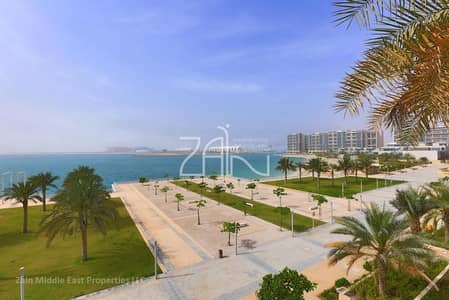 5 Bedroom Villa for Rent in Al Raha Beach, Abu Dhabi - Full Sea View! Elegant 5 BR Sky Villa with Pool