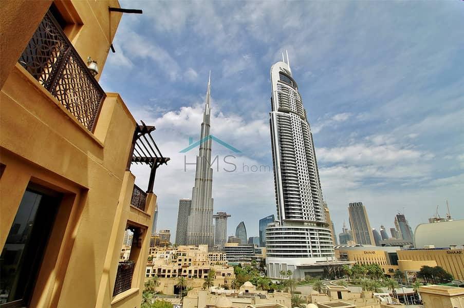 Stunning 2 Bed | Burj Khalifa Views