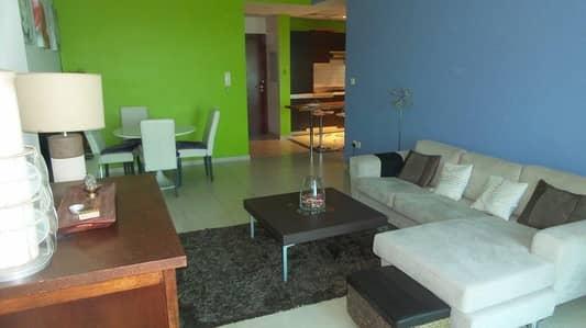 شقة 1 غرفة نوم للبيع في دبي مارينا، دبي - Living Room
