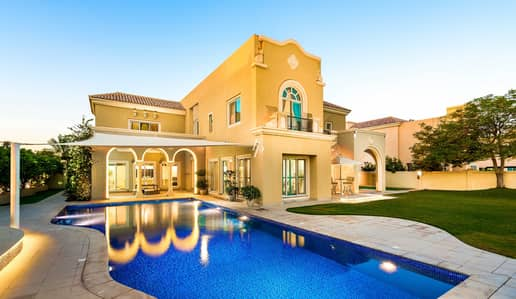 فیلا 6 غرف نوم للبيع في مدينة دبي الرياضية، دبي - Stunning 6 Bed Villa with Striking Panoramic Views