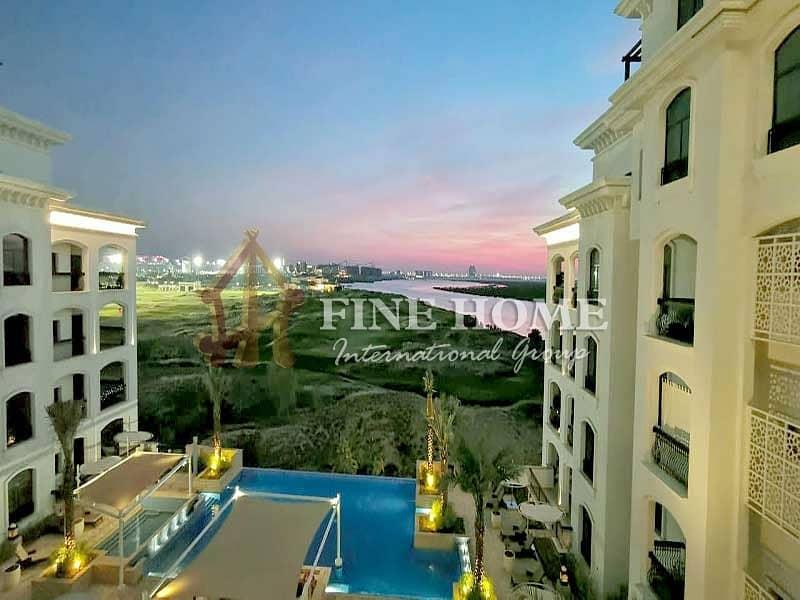2 pool / Garden / Sea View 2 BR. Apartment