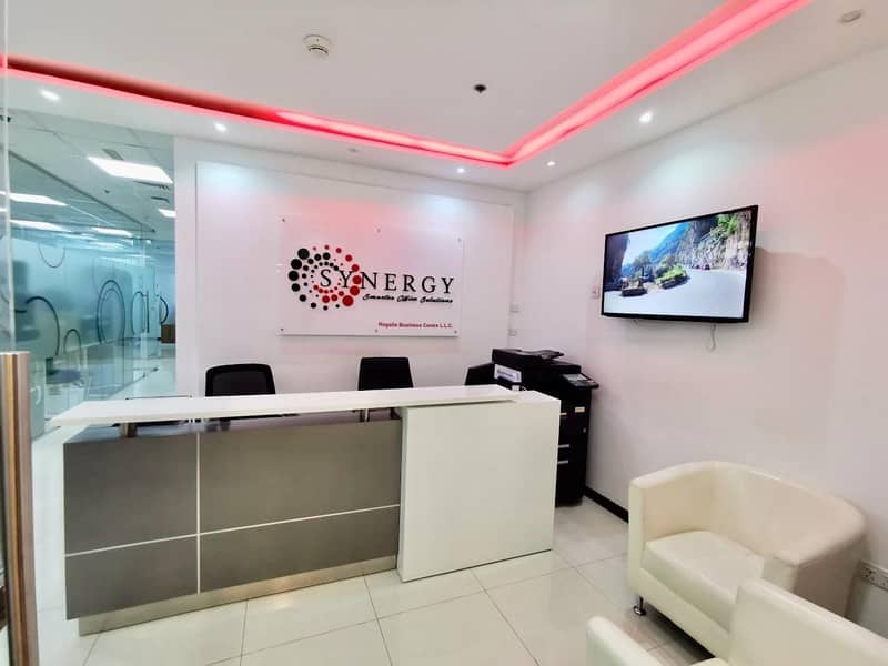 18 Fully Furnished Smart Offices