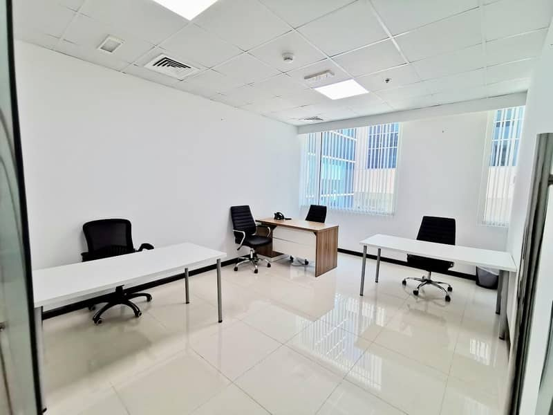 2 Winter Offer!! Low Priced Fully Furnished Offices