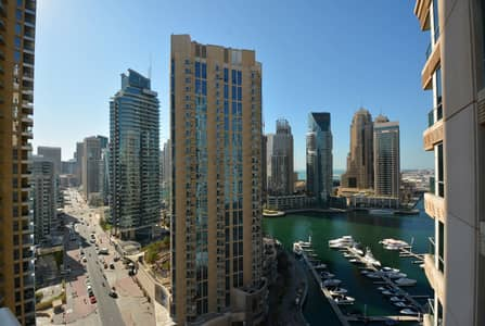 2 Bedroom Flat for Rent in Dubai Marina, Dubai - Amazingly Furnished | Fully Equipped 2Br+Study