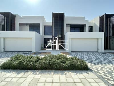 4 Bedroom Townhouse for Rent in Saadiyat Island, Abu Dhabi - Brand New! Single Row 4 BR TH with Big Plot