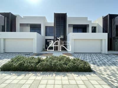 تاون هاوس 4 غرف نوم للايجار في جزيرة السعديات، أبوظبي - Brand New! Single Row 4 BR TH with Big Plot