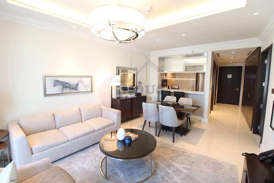 2 Burj & Fountain View |Handedover | Brand New | Luxury Living