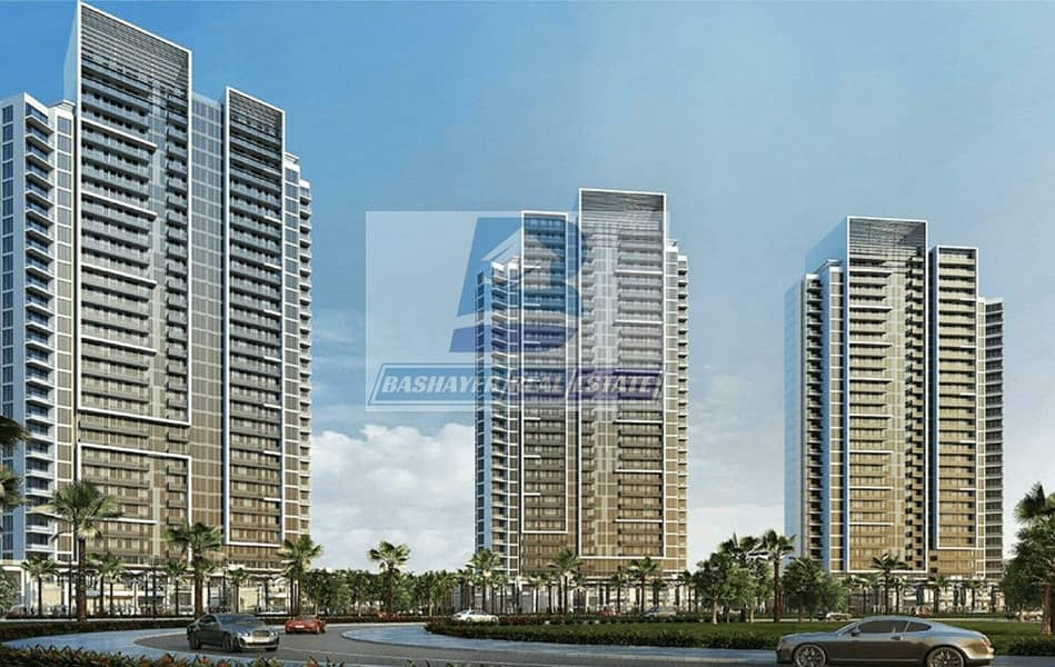 Cheapest Studio in Damac with 1277 Days Payment Plan / 4% DLD Waived