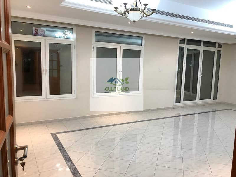 4 bedrooms apartment for rent in muroor area maids room  balcony