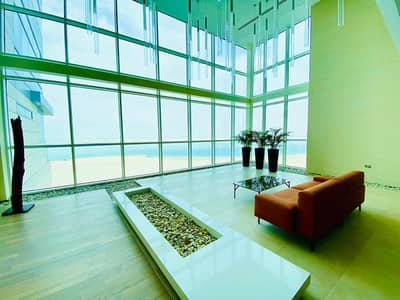 شقة 4 غرف نوم للايجار في شاطئ الراحة، أبوظبي - Stunning  Sea View 4 Bedroom Aparment