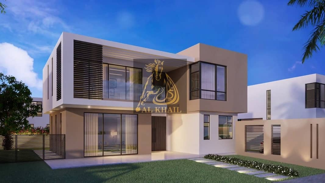 Opulent 4-Bedroom Townhouse for sale in Sharjah | Very Attractive Payment Plan | Perfect Location