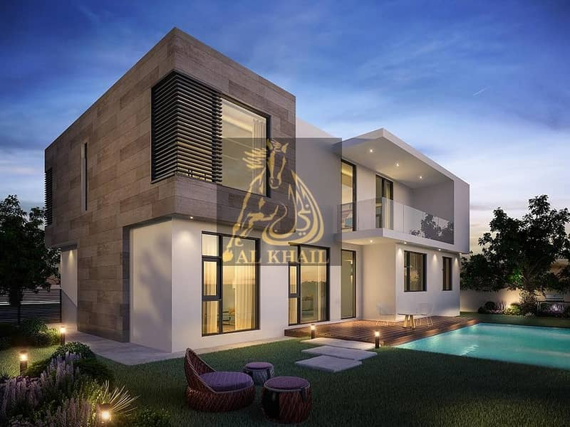 10 Opulent 4-Bedroom Townhouse for sale in Sharjah | Very Attractive Payment Plan | Perfect Location