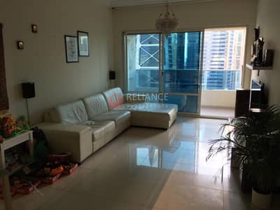 1 Bedroom Apartment for Rent in Jumeirah Lake Towers (JLT), Dubai - One Bed Apartment with Balcony Marina View