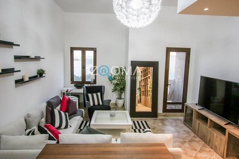Luxurious|Fully Furnished w/ Backyard View