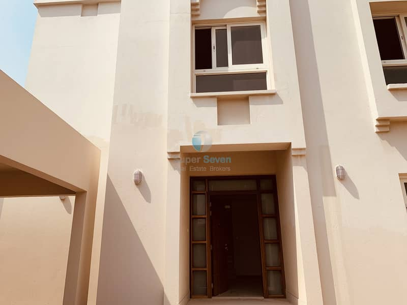 14 Spacious 4-Bedroom Villa with a Maid's room for Rent in Al Barashi