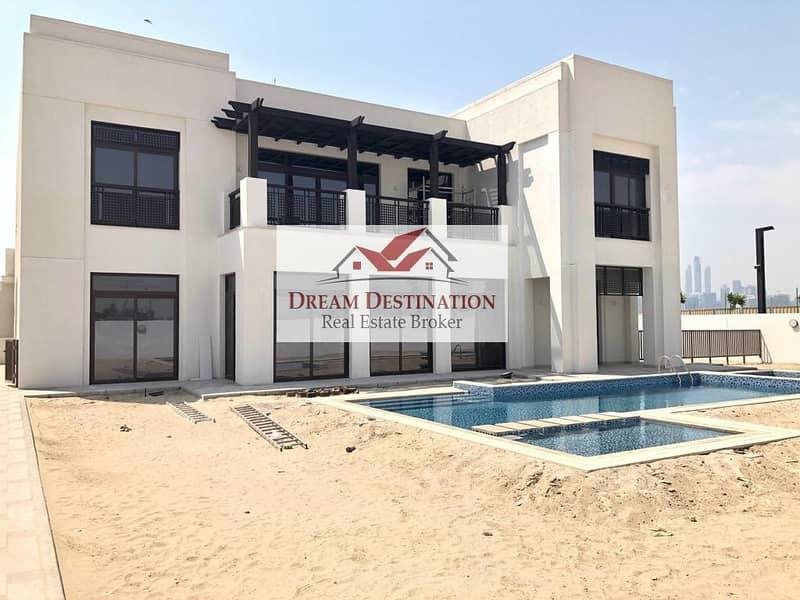 2 Brand New -  6 Bedroom Modern Arabic Villa in D1