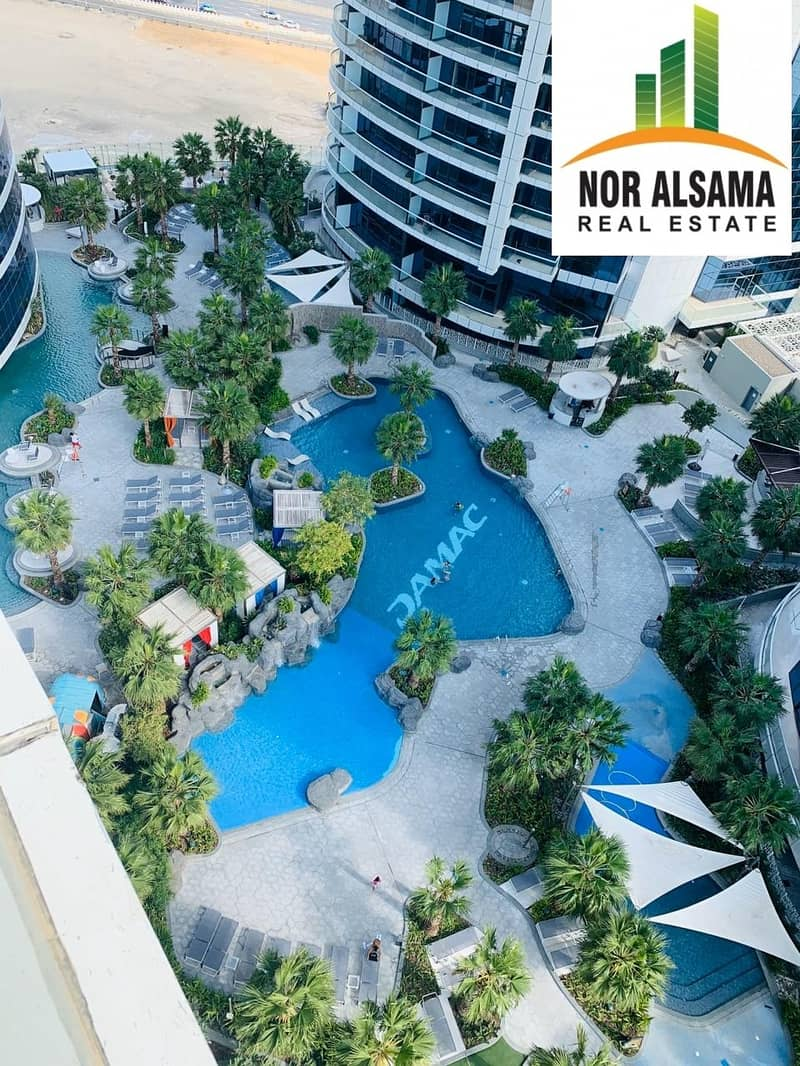 Brand New pool view!! 1 bedroom Luxury Furnished apartment in 5 star Building@ 80000