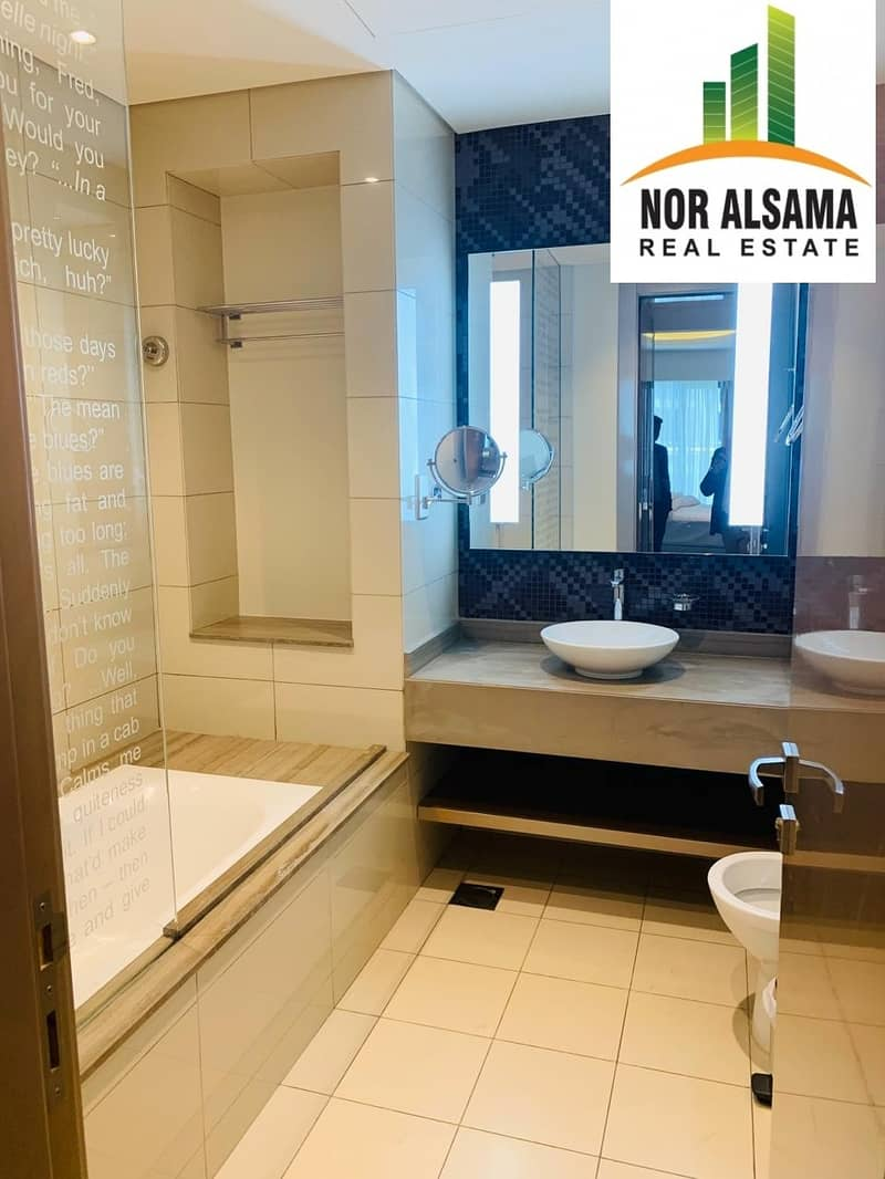 11 Brand New pool view!! 1 bedroom Luxury Furnished apartment in 5 star Building@ 80000