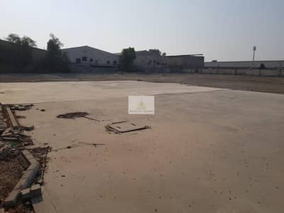 Plot for Rent in Ras Al Khor, Dubai - Open Yard with Fencing - 10