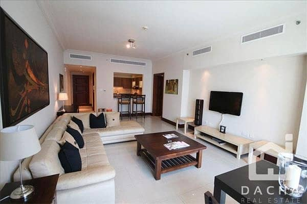 Furnished / Partial Sea View / Great Location
