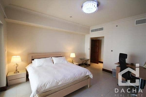 2 Furnished / Partial Sea View / Great Location