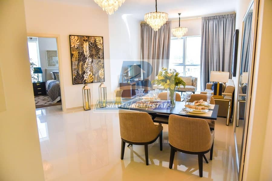 17 Cheapest One Bedroom In Damac Hills / DLD Waived / One Year Service Charge Free