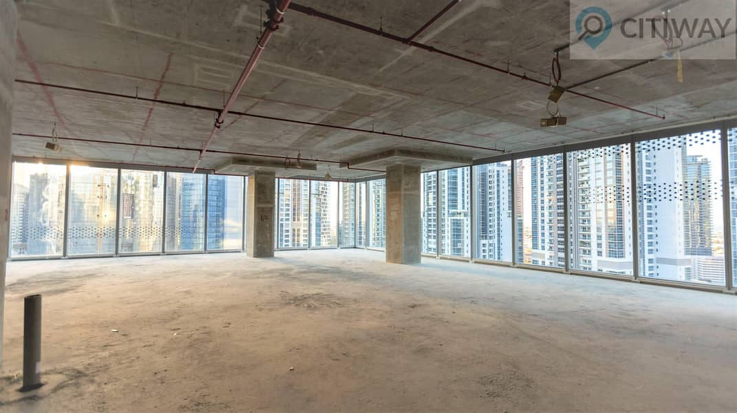 Amazing View | FULL FLOOR | Shell and Core