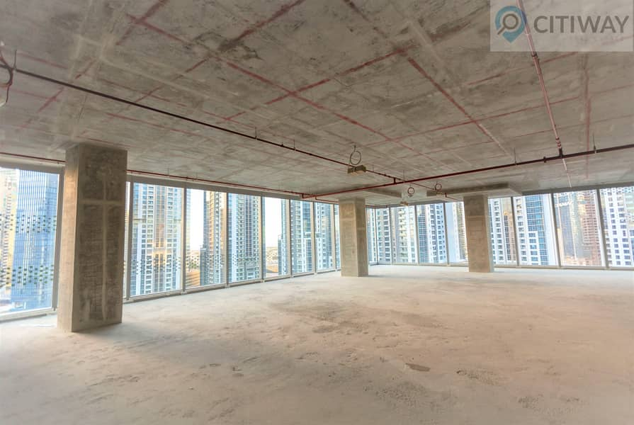 Panoramic View | Full Floor | Shell and Core Office