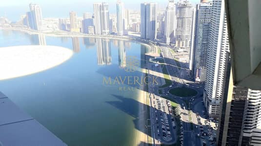 3 Bedroom Flat for Rent in Al Mamzar, Sharjah - Beautiful 3BHK | Gym+Pool | Sea View | Al Mamzar