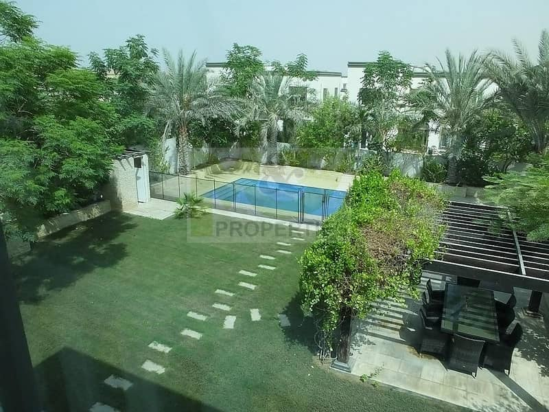 A 3BR Villa in District 5.Large Plot Landscaped Plot and Pool.