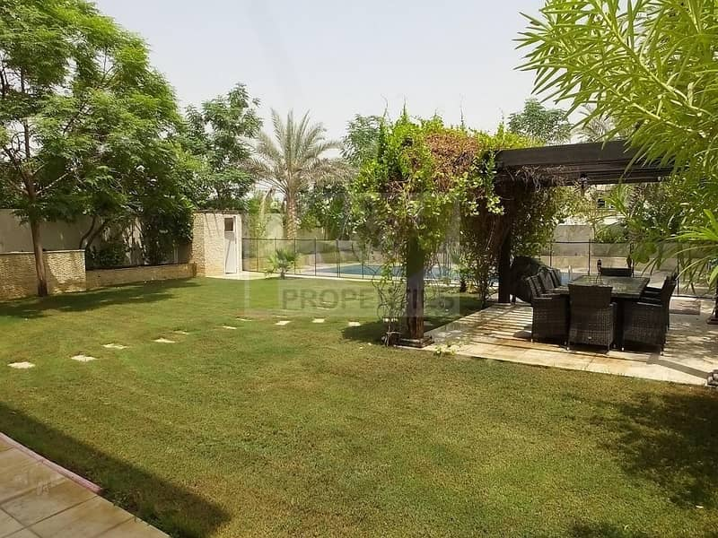 12 A 3BR Villa in District 5.Large Plot Landscaped Plot and Pool.