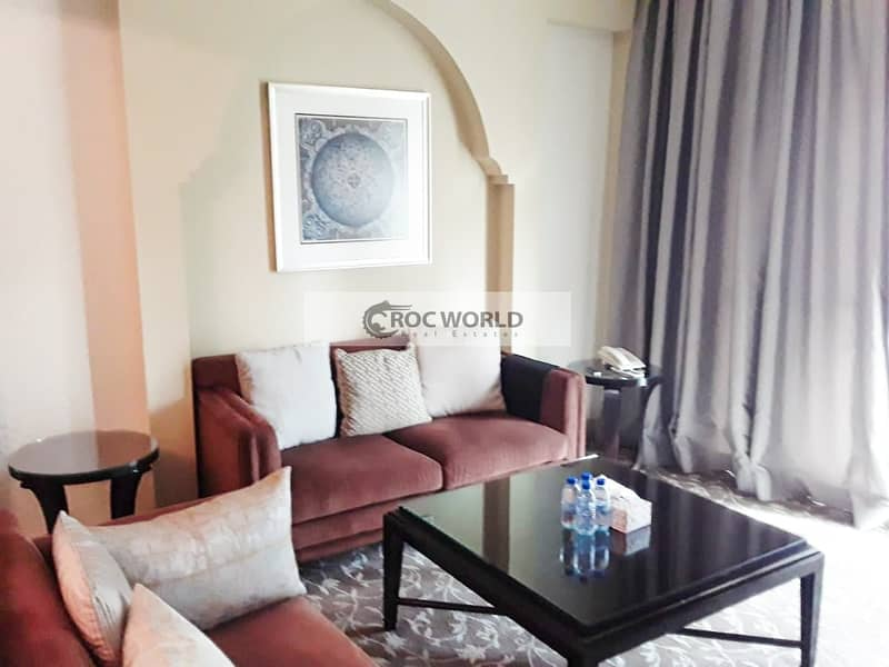 2 Chiller Free   Fully Furnished 1 Bedroom Apartment   Spacious Terrace