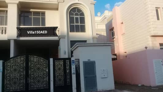 3 Bedroom Villa for Rent in Al Mushrif, Abu Dhabi - Elegant Family Villa 3 BR, Balconies