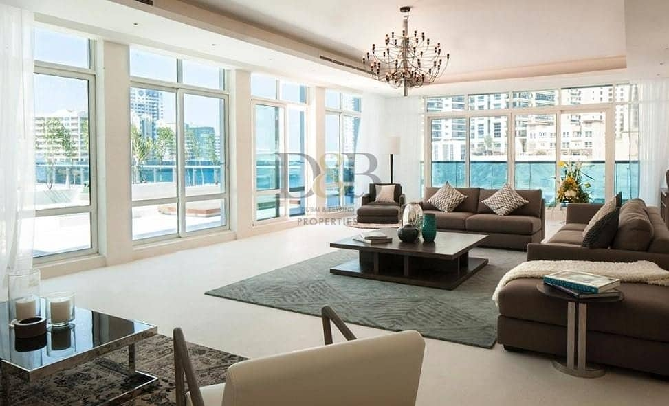 Marina View | Luxurious 5BR Villa In Dubai Marina