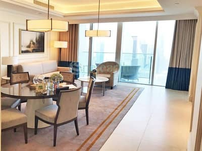 2 Bedroom Apartment for Rent in Downtown Dubai, Dubai - FULLY FURNISH AND SERVICED   5 STAR HOTEL APT.