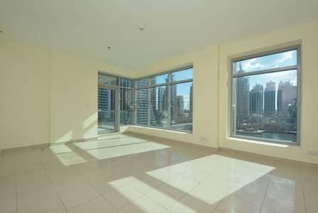 شقة 2 غرفة نوم للايجار في دبي مارينا، دبي - Full Marina View | Best Layout | Vacant