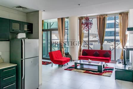 فلیٹ 1 غرفة نوم للايجار في دبي مارينا، دبي - 1 Bedroom | Furnished | Low Floor