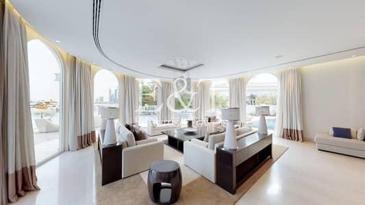 فیلا 5 غرف نوم للبيع في نخلة جميرا، دبي - Flawlessly Renovated Villa | Marina View | PJ
