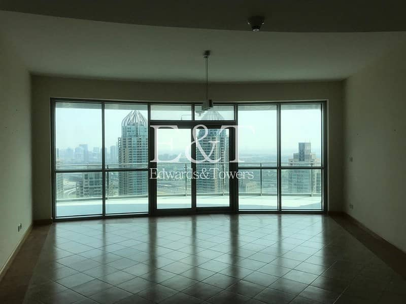A High Floor 2 BR with Full Marina View