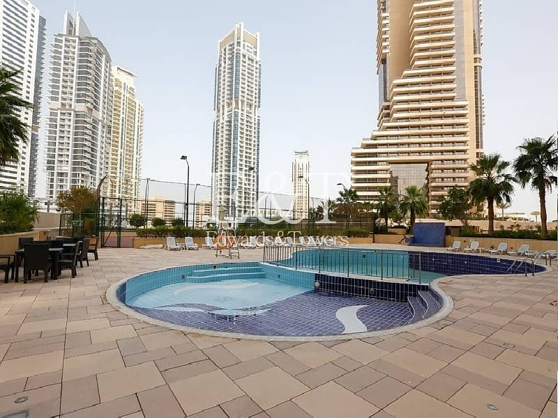 11 A High Floor 2 BR with Full Marina View